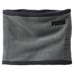 Fleece Rever Neck Warmer, Puma Black-Dark Shadow, small