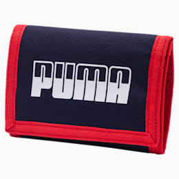 PUMA Plus Wallet II, Peacoat-High Risk Red, small-IND