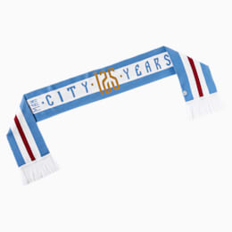 Man City 125th Anniversary Fan Scarf