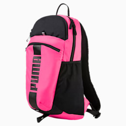 Deck Backpack II, KNOCKOUT PINK-Puma Black, small-IND