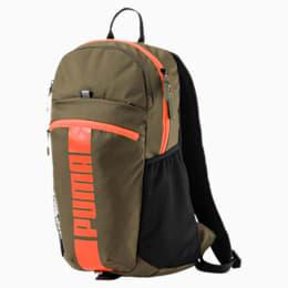 Deck Backpack II, Olive Night-Shocking Orange, small-IND