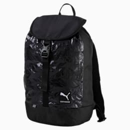 Women's Academy Backpack, Puma Black-SWAN, small-IND
