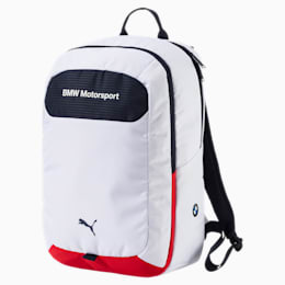 BMW Motorsport Backpack, Puma White-Team Blue, small-IND