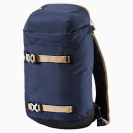 Evo Blaze Backpack, Peacoat-Apple Cinnamon, small-IND