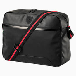 Ferrari Lifestyle Reporter Bag, Puma Black, small-IND