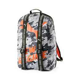 PUMA x ATELIER NEW REGIME Backpack, Gray Violet-Forest Night, small