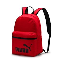 プーマ フェイズ バックパック (22L), High Risk Red-Puma Black, small-JPN