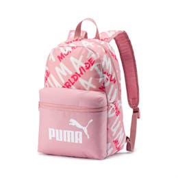 Phase Small Backpack, Bridal Rose-Puma White, small