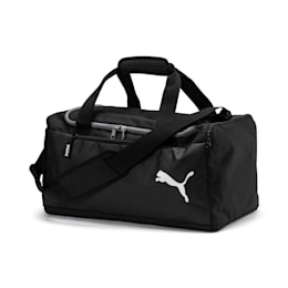 Fundamentals Sports Duffle Bag, Puma Black, small-IND