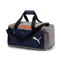 Fundamentals Sports Duffle Bag, Peacoat-Firecracker, small-IND