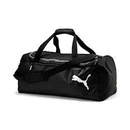 ファンダメンタルス スポーツバッグ M 57L, Puma Black, small-JPN