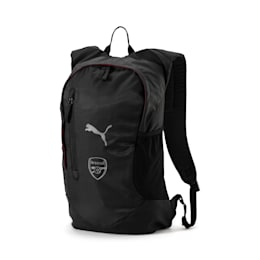 Arsenal FC Fanwear Backpack, Puma Black-Silver, small