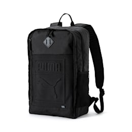 Square Backpack, Puma Black, small