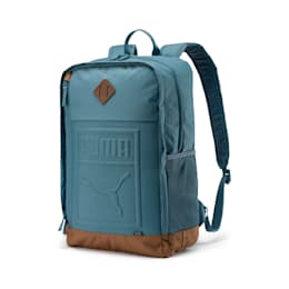 Square Backpack, Bluestone, small