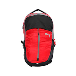 PUMA Apex Backpack, Ribbon Red-Steel Gray, small-IND