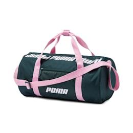 Small Women's Barrel Bag, Ponderosa Pine-Pale Pink, small-SEA