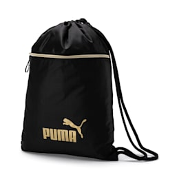 WMN Core Seasonal Women's Gym Sack, Puma Black, small-IND