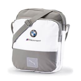 Bolso de mano BMW M Motorsport grande, Puma White, pequeño