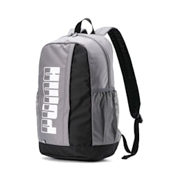 PUMA Plus Backpack II, CASTLEROCK-Puma Black, small