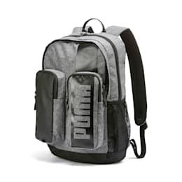 PUMA Deck Backpack II, Medium Gray Heather, small