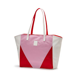 Prime Time Women's Large Shopper, Puma White-Hibiscus, small-IND