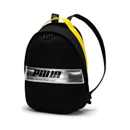 Prime Street Backpack, Puma Black-Blazing Yellow, small