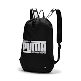 Sole Smart Backpack, Puma Black, small-IND