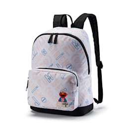 Sesame Street Sport Backpack, Puma White, small