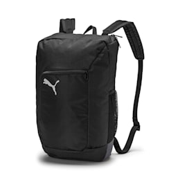 ftblNXT Training Backpack, Puma Black-Iron Gate, small-IND