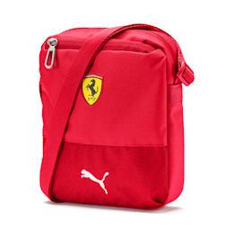 Ferrari Replica Kompakte Umhängetasche, Rosso Corsa, small