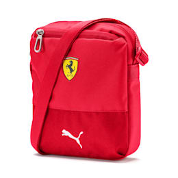 Ferrari Replica Portable Shoulder Bag, Rosso Corsa, small
