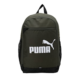 PUMA BZ Backpack, Forest Night-Puma White, small-IND