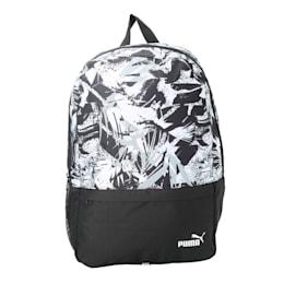 PUMA BTS Backpack Set II, Black-White-Brush AOP, small-IND
