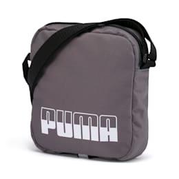 Plus Portable II Shoulder Bag, CASTLEROCK-Puma Black, small-IND