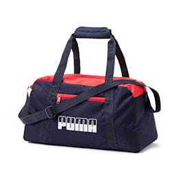 プーマ プラス スポーツバッグ II, Peacoat-High Risk Red, small-JPN