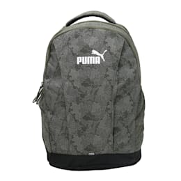 PUMA Style Backpack, Forest Night-Graphic, small-IND
