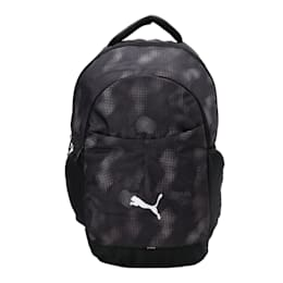Puma Elevated School Backpack, Iron Gate-Pomegranate-AOP, small-IND