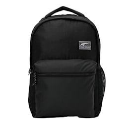 PUMA Academy Backpack, Puma Black-Logo AOP, small-IND