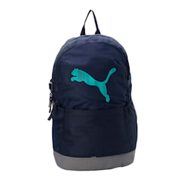 PUMA Street Cat Backpack IND, Peacoat-Deep Lagoon, small-IND