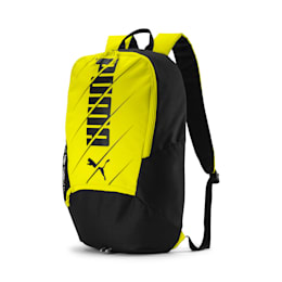 ftblPLAY Backpack, Yellow Alert-Puma Black, small-IND