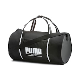 Base Damen Barrel-Tasche, Puma Black, small