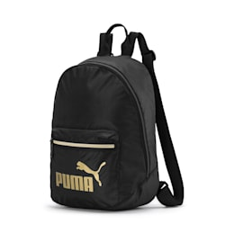 Archive Backpack, Puma Black-Gold, small
