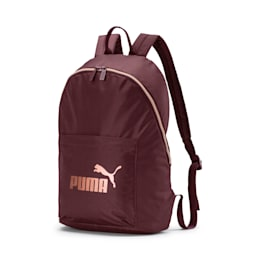 Core Seasonal Backpack, Vineyard Wine-Rose Gold, small