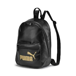 Damski plecak Up Archive, Puma Black-Gold, small