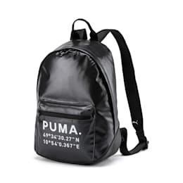 Mochila para mujer Time Archive, Puma Black-Gunmetal, small