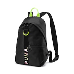 Evolution Women's Prime Street Archive Backpack, Puma Black, small