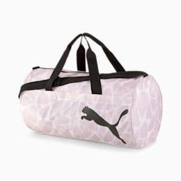 AT ESS Women's Training Duffel Bag, Rosewater-AOP, small