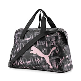 AT ESS Grip Bag, Puma Black-Bridal Rose-AOP, small