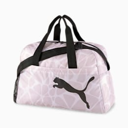 Active Training Essential Women's Grip Bag, Rosewater-AOP, small-IND