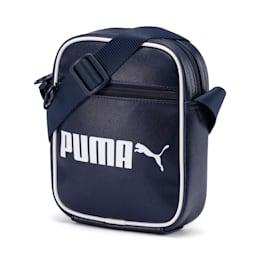 Campus Portable Retro Shoulder Bag, Peacoat, small